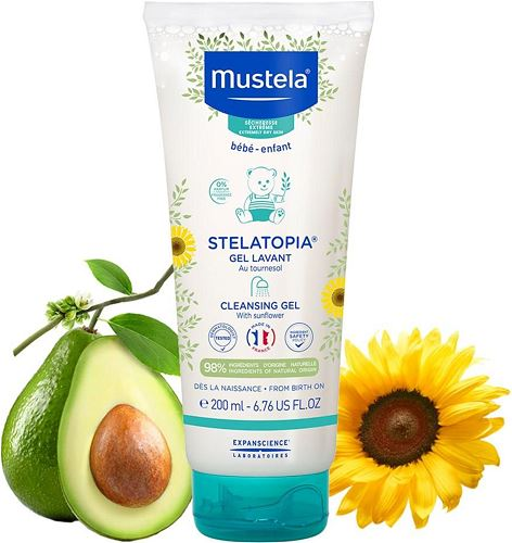 Mustela Stelatopia Cleansing Cream 200 ml Krem Şampuan