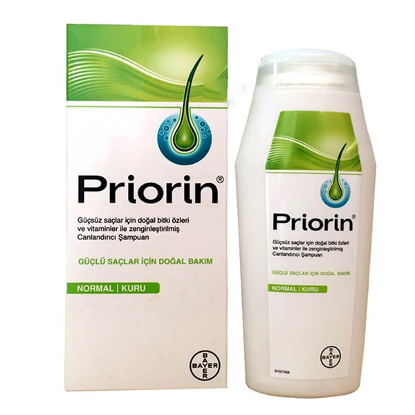 Priorin Normal ve Kuru Saçlar 200 ml Şampuan